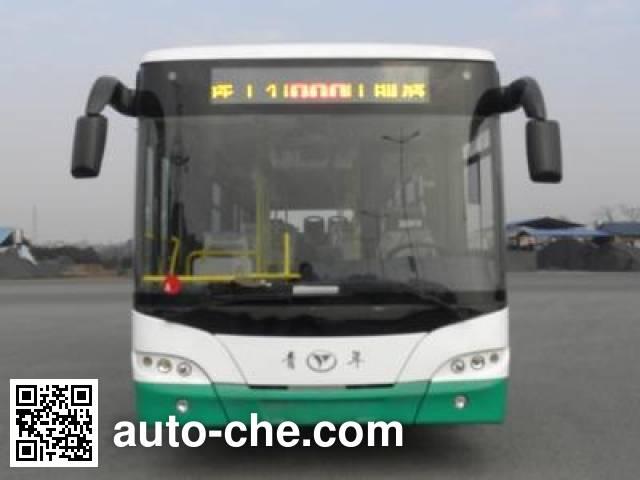 青年牌JNP6120PHEV2混合动力城市客车