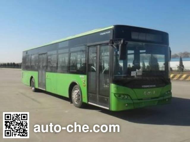 青年牌JNP6120PHEV3混合动力城市客车
