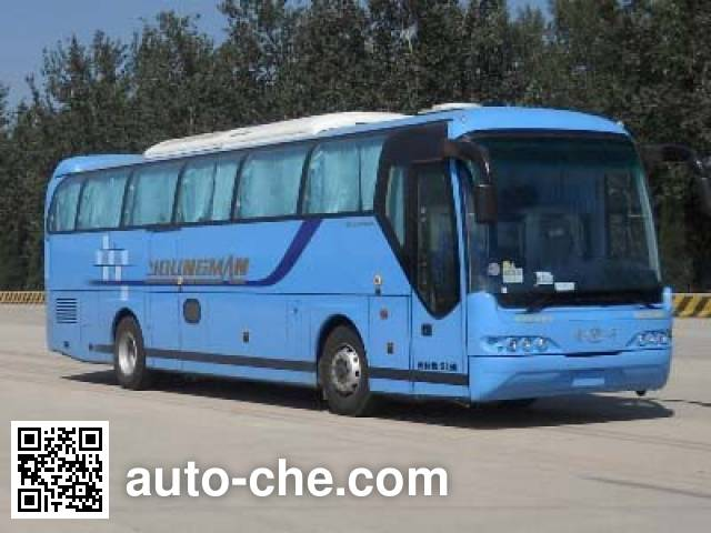 Young Man JNP6122M luxury tourist coach bus