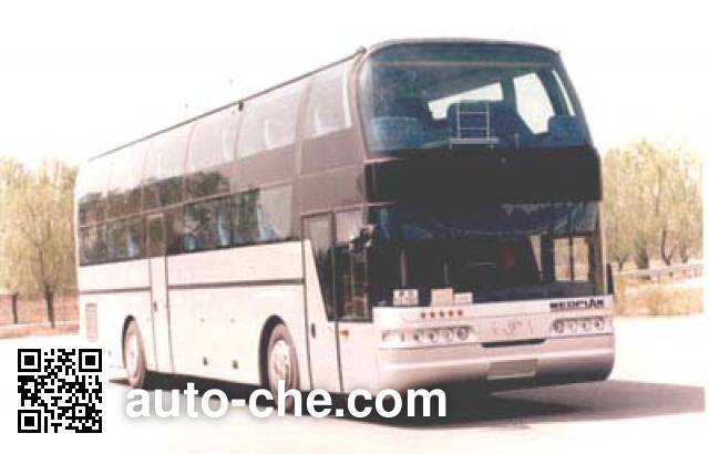 青年牌JNP6127W-1卧铺客车