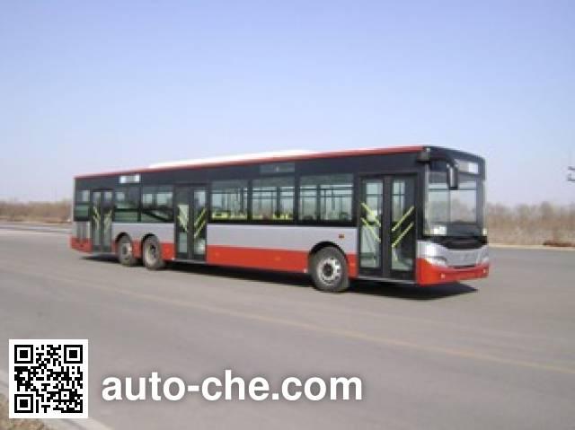 青年牌JNP6140GM豪华城市客车