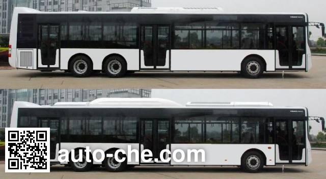 青年牌JNP6142GC豪华城市客车