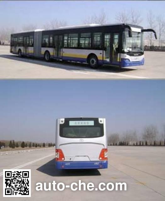 青年牌JNP6180GM豪华城市客车