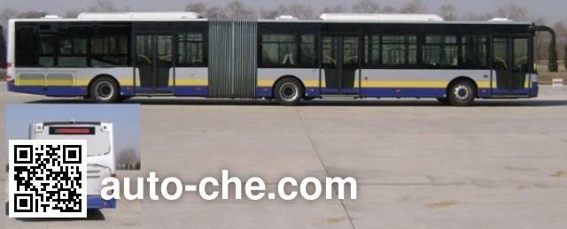 青年牌JNP6181GC豪华城市客车