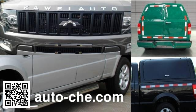 Kawei JNQ5031XXYXK42 box van truck