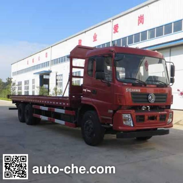 楚疆牌JPY5250TPBV平板运输车
