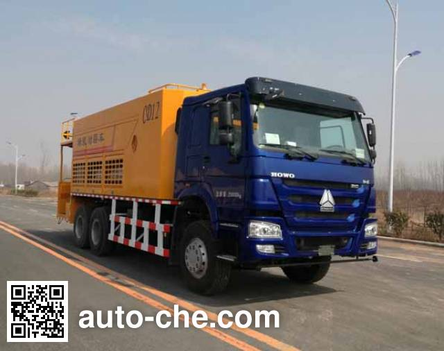 Junqiang JQ5254TFC slurry seal coating truck