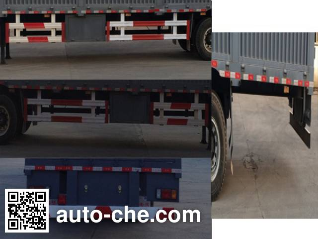 Junqiang JQ9180TCL vehicle transport trailer