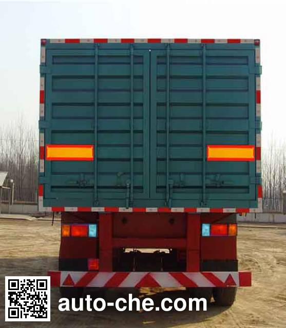Junqiang JQ9350XXY box body van trailer