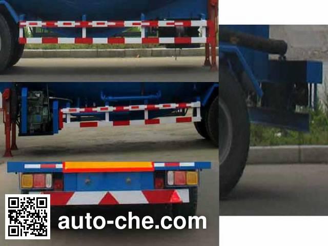 骏强牌JQ9402GFL低密度粉粒物料运输半挂车