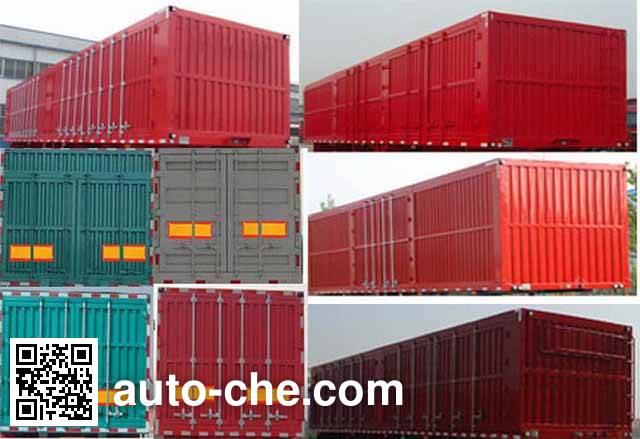 Junqiang JQ9400XXY box body van trailer