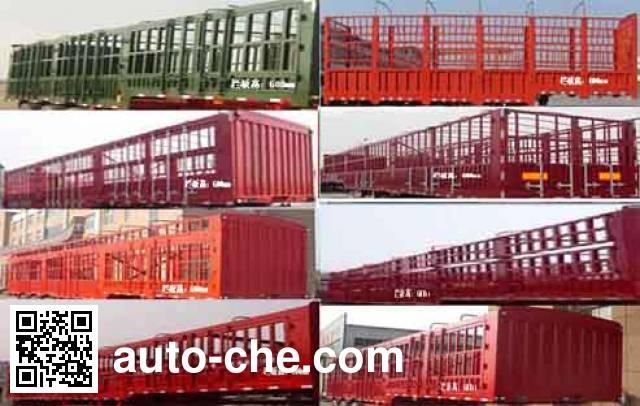 Junqiang JQ9401CCQ animal transport trailer