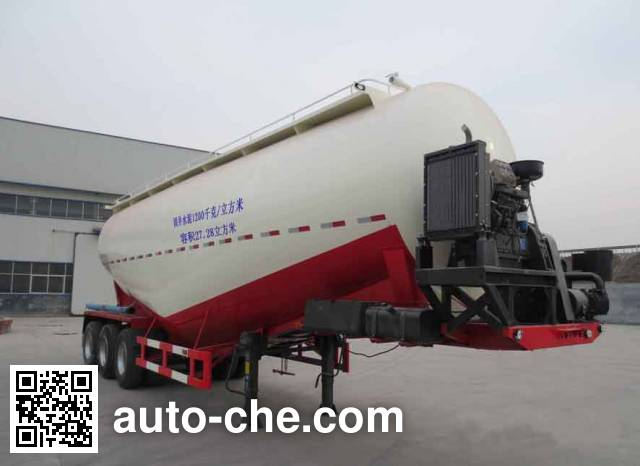 Junqiang JQ9401GXH ash transport trailer