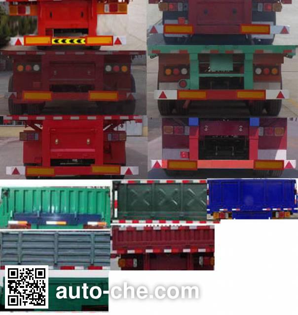 Junqiang JQ9401Z dump trailer