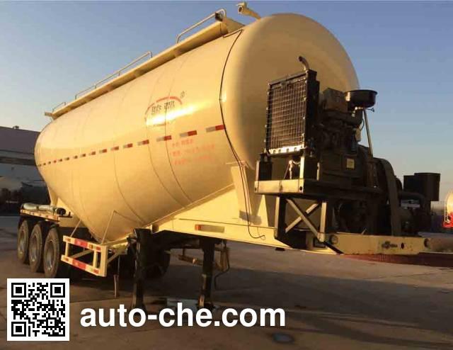 Junqiang JQ9403GFL medium density bulk powder transport trailer