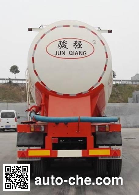 骏强牌JQ9405GFL中密度粉粒物料运输半挂车