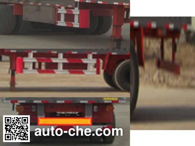 Junqiang JQ9406XXY box body van trailer