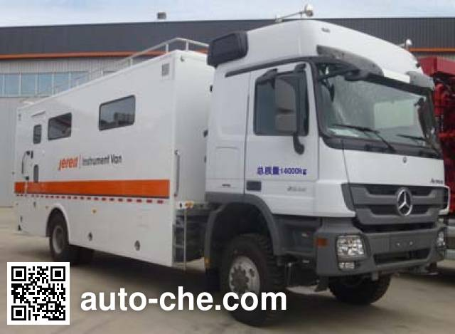 Jereh JR5140TBC control and monitoring vehicle