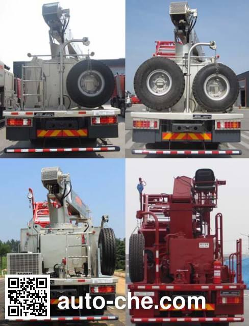 Jereh JR5370TLG coil tubing truck