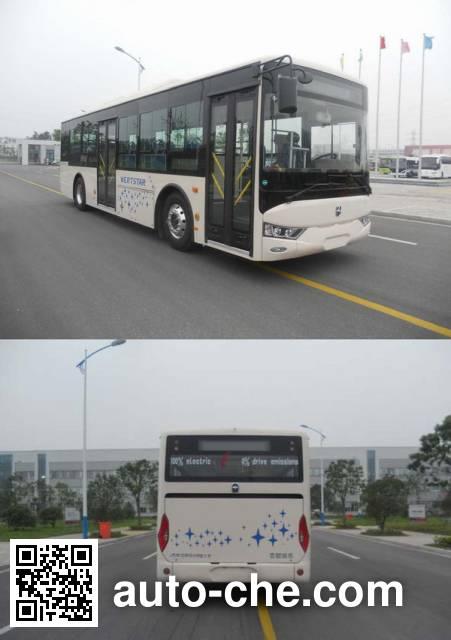 AsiaStar Yaxing Wertstar JS6101GHBEV10 electric city bus