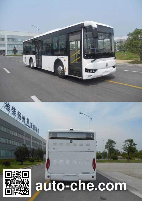 亚星牌JS6108GHBEV3纯电动城市客车
