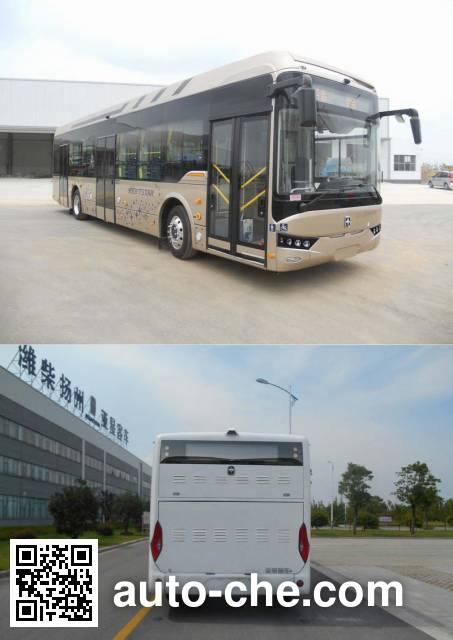 亚星牌JS6128GHBEV2纯电动城市客车