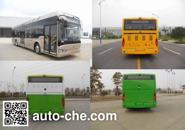 亚星牌JS6128GHBEV5纯电动城市客车