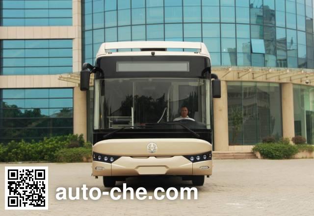 亚星牌JS6188GHQCP铰接城市客车