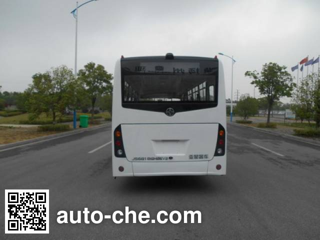 AsiaStar Yaxing Wertstar JS6818GHBEV5 electric city bus