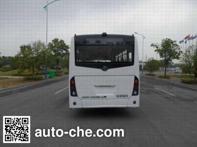 AsiaStar Yaxing Wertstar JS6818GHBEV6 electric city bus