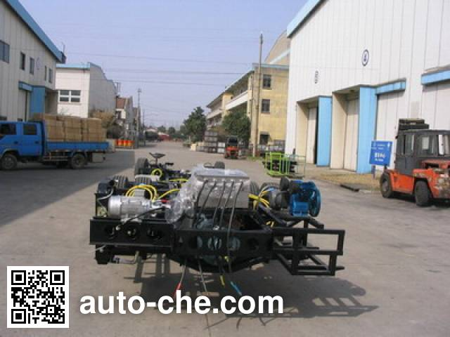 AsiaStar Yaxing Wertstar JS6101GHDBEV electric bus chassis