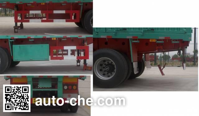 Lujia JSF9400CCY stake trailer