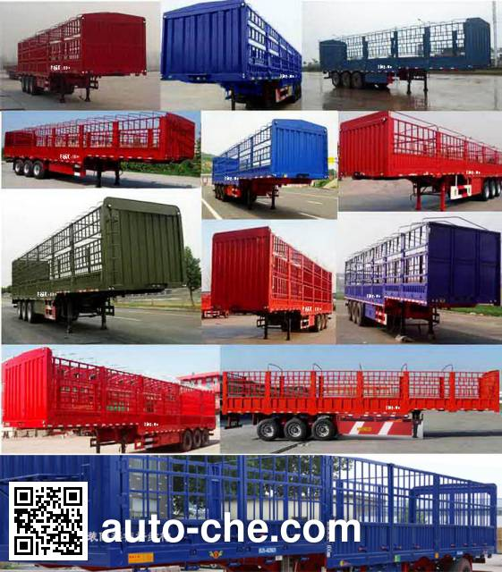 Lujia JSF9400CCYE stake trailer