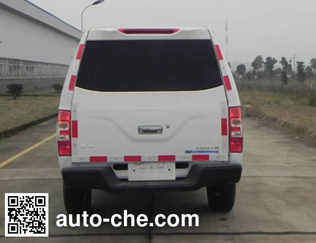 Hongdu JSV5030XXYMSR4 box van truck
