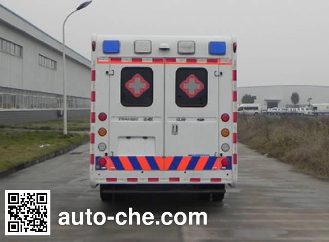 红都牌JSV5049XJHMLA25救护车