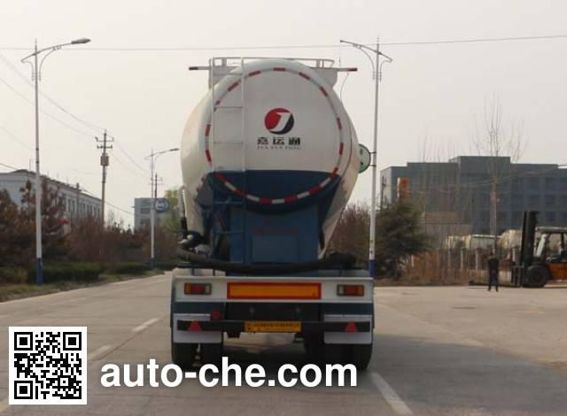 Jiayuntong JTC9400GFL medium density bulk powder transport trailer