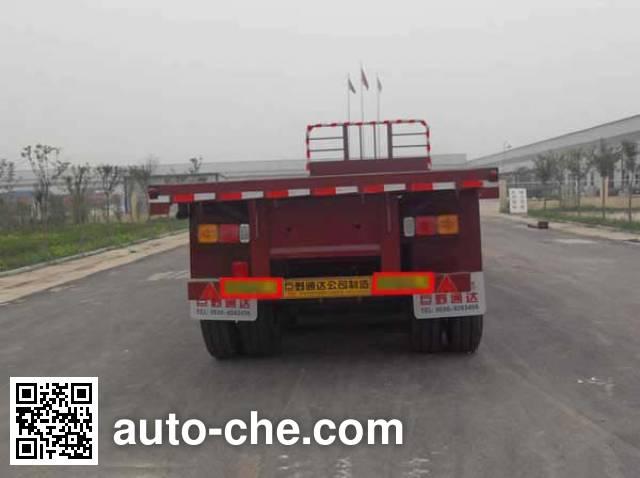 Qiang JTD9401TPB flatbed trailer