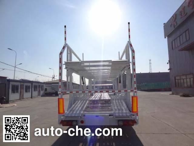 Juntong JTM9200TCL vehicle transport trailer