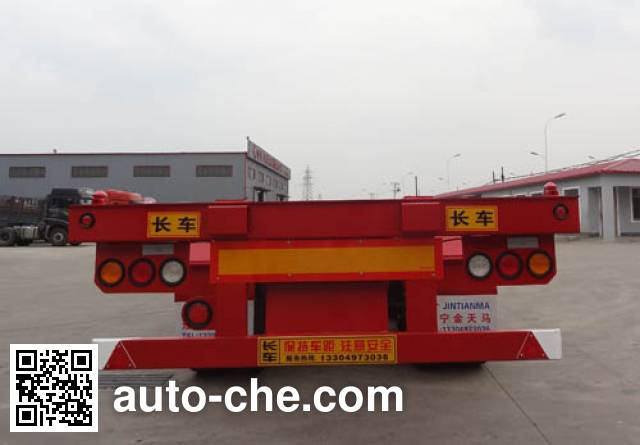 Juntong JTM9400TJZ container transport trailer