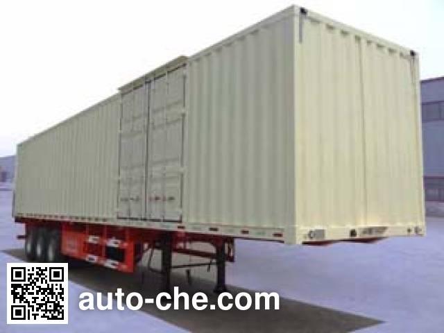 Juntong JTM9400XXY box body van trailer