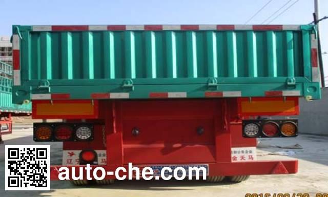 Juntong JTM9401 dropside trailer