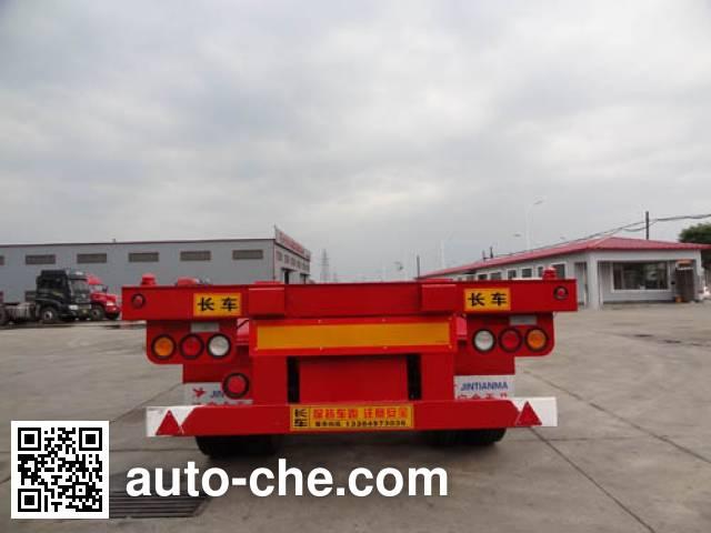 骏彤牌JTM9401TJZ集装箱运输半挂车