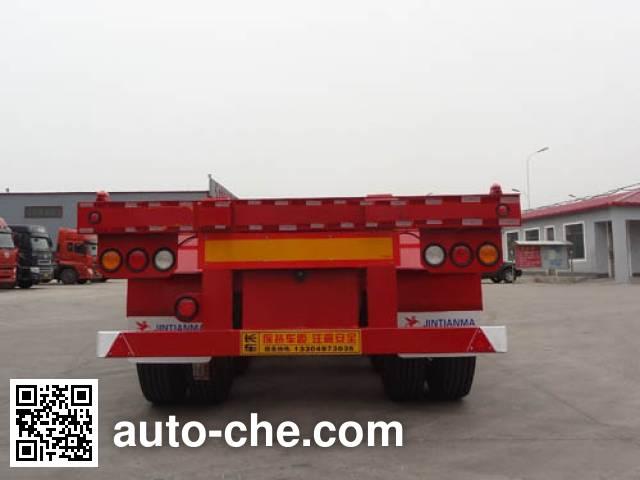 骏彤牌JTM9402TJZ集装箱运输半挂车