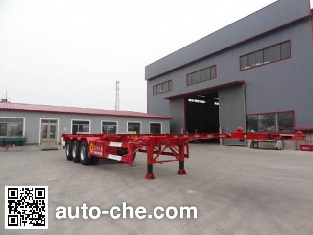Juntong JTM9402TJZ container transport trailer