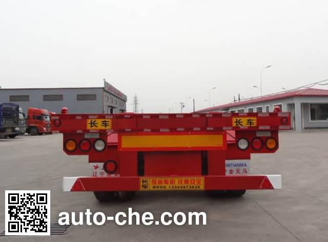 Juntong JTM9404TJZ container transport trailer