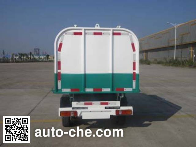 Qite JTZ5021ZZZBEV electric self-loading garbage truck