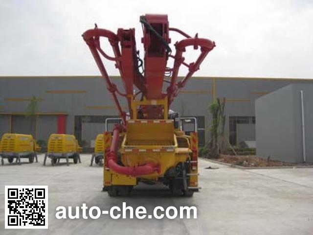 Qite JTZ5290THB concrete pump truck