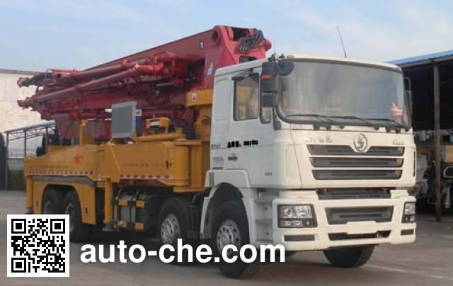 Qite JTZ5390THB concrete pump truck