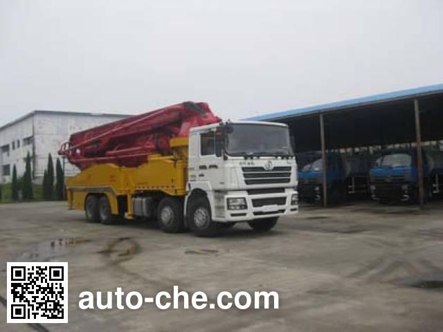 奇特牌JTZ5420THB混凝土泵车