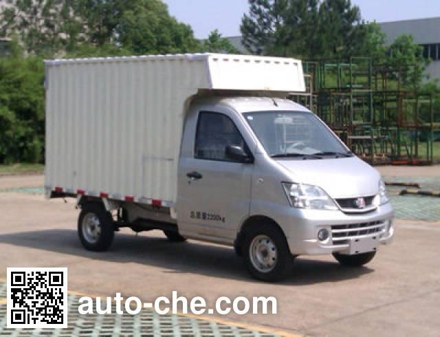 江铃牌JX5021XXYMEV纯电动厢式运输车